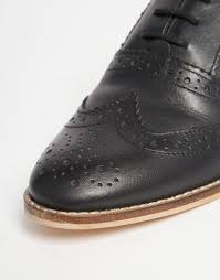 Million Dollar Tan Products Asos Million Dollar Leather Brogues In Black Lyst