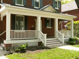 House With Front Porch by Brick House Front Porch Ideas