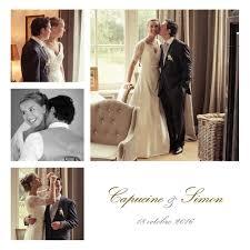 faire part de remerciement mariage carte de remerciement mariage classique 6 photos atelier rosemood