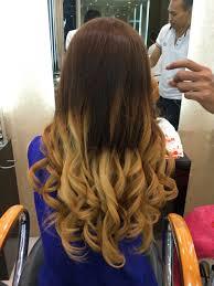 lightened front hair ombre hair for summer stellangelita