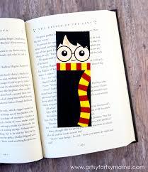 free printable harry potter bookmarks artsy fartsy