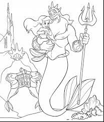impressive little mermaid coloring pages with mermaids coloring