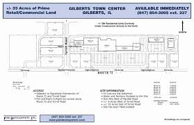 gilberts town center commercial east u0026 west plote property