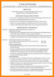 4 resume career summary resume sections