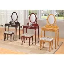 Unfinished Wood Vanity Table Teen Vanity Set