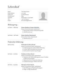 Lebenslauf Muster Ms Word Europass Lebenslauf Vorlage Word Starengineering