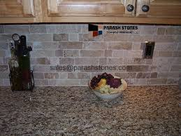 natural stone backsplash kitchen backsplash splashback