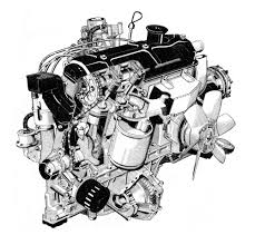 peugeot auto france peugeot 305 1472cc engine by artist unknown cutaway line art