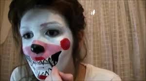 five nights at freddy s halloween fnaf halloween makeup mangle zara kawaii five nights at