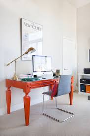 Home Office Interiors Trend 25 Vibrant Home Offices With Bold Orange Brilliance