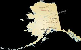 Maps Of Alaska by Map Of Alaska Arctic Getaway