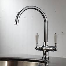 victorian kitchen faucets enki chrome kitchen sink mixer tap traditional black white brushed