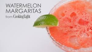 how to make 5 star watermelon margaritas myrecipes youtube