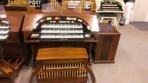 conn 652 deluxe type ii 3 manual theatre style organ for sale in