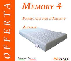 prezzo materasso memory foam materasso memory foam mod memory 4 prezzo offerta sfoderabile