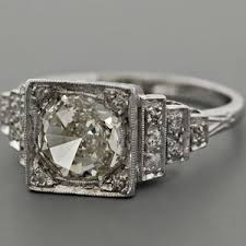 deco engagement rings ask me again hon vintage engagement ring gorgeous