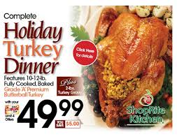 complete turkey dinner shoprite of brookfield turkey dinner recipes to cook