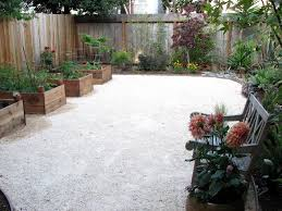 Raised Garden Bed On Concrete Patio Decomposed Granite And Raised Planters A Great Way To Eliminate