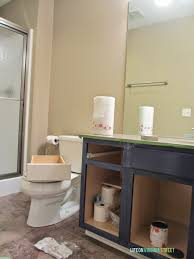 Paint Bathroom by Bathroom Vanity Makeover Using Country Chic Paint Life On