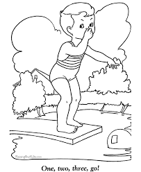 summer coloring pages printables kids coloring