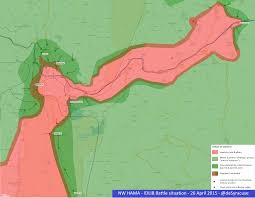 Syria Fighting Map by Agathocle De Syracuse Nw Hama U0026 Idlib Battle 22 April 2015