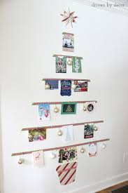 displaying cards with a diy card tree display