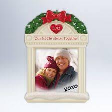 2012 hallmark keepsake ornament our 1st together ebay