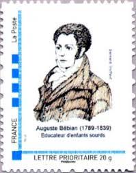 Un fervent partisan, entendant, de la LSF à l'Institut des Sourds-Muets, Auguste Bébian