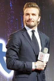 david beckham reveals new mullet hairstyle at event in hong kong