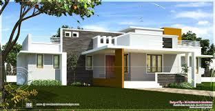 modern house designs and floor plans single floor contemporary house design kerala home house plans