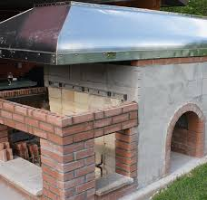 Pizza Oven Fireplace Combo by Pizza Oven With Fireplace And Smoker