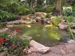 Backyard Pond Images Pond Streams Add Natural Appeal To Backyard Ponds Pond