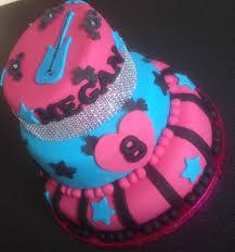rock themed 8th birthday cake rubydoocakes