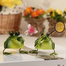 metal ornaments home decor european lovely frog iron crafts metal ornaments beautiful iron