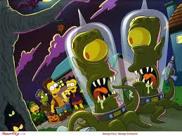 halloween scenes simpsons scene wallpapers u2014 simpsons crazy