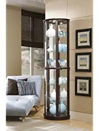 Pulaski Curio Cabinet Used Display U0026 Curio Cabinets Amazon Com
