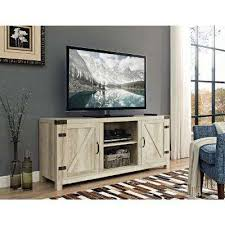 Firniture Barn White Tv Stands Living Room Furniture The Home Depot