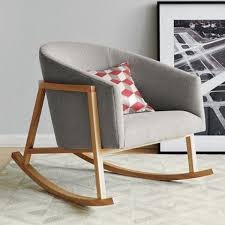 Modern Rocking Chair For Nursery 23 Best Rocking Chairs Images On Pinterest Modern Rocking Chairs