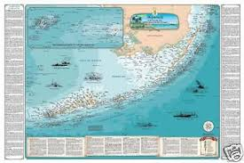 florida shipwrecks map florida shipwreck chart nautical chart print map ebay