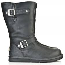 womens kensington ugg boots sale ugg black 5678 kensington womens calf boot from daniel