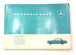 mercedes operating instructions owners manual 1968 ebay