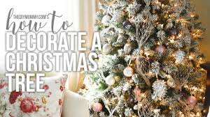how to decorate a christmas tree christmas diy decor
