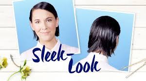 Frisuren Lange Haare Nivea by Sleek Look Nivea Frisuren Tutorial