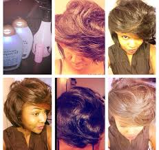 short wraps hairstyle roller wrap natural hair used all dryers set on cold great