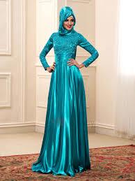 muslim wedding dresses floor length a line high neck sleeve color muslim wedding