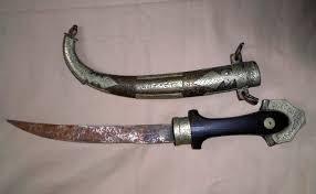 5 jambiya s arab ornamental daggers from lebanon yemen saudi