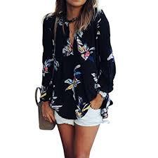 wllw women casual see through floral print long sleeve chiffon