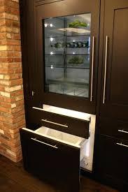 small glass front refrigerator glass door home freezer mini fridge
