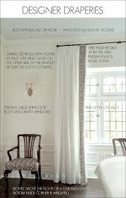 Curtains For Traverse Rods How To Get Window Treatments Like You See In Magazines Laurel Home