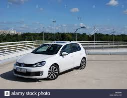 volkswagen hatchback 2009 volkswagen golf vi gtd 2009 white five doors 5d german